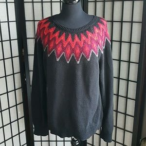 Chaps Cotton Blended Sweater